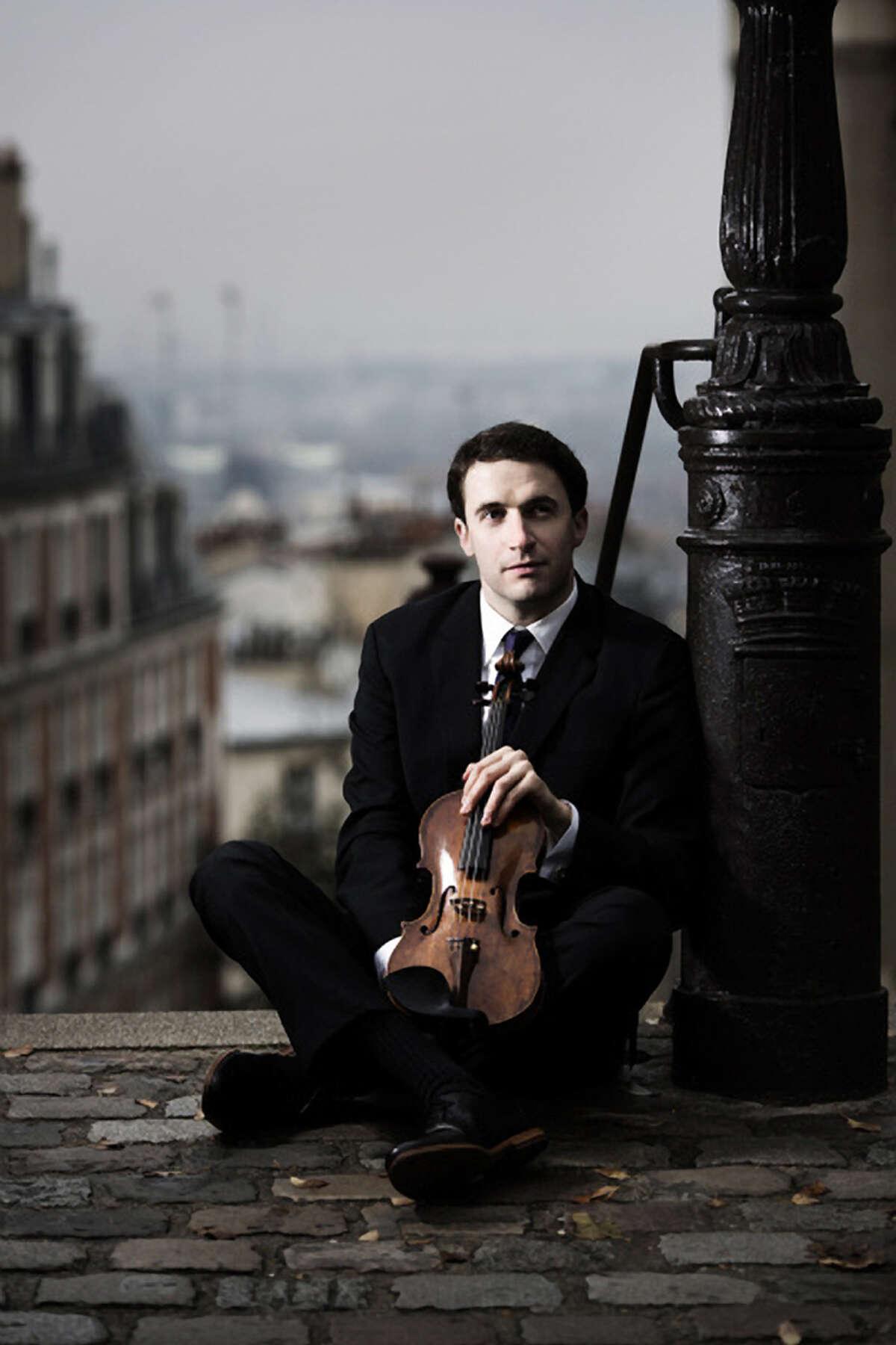 Violinist Noah Bendix-Balgley