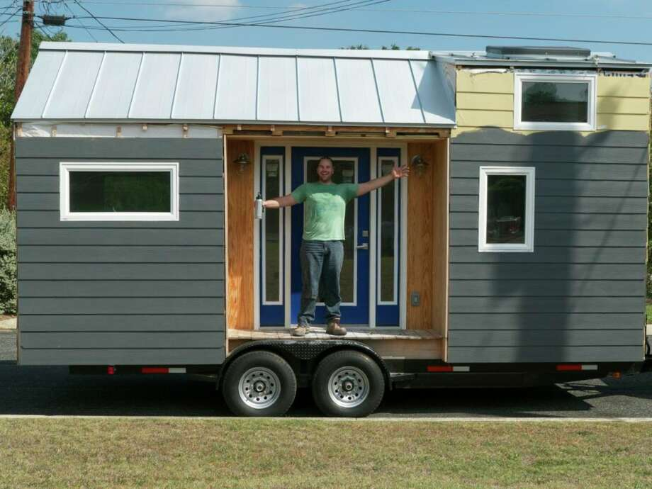 Photos of Casey Friday's tiny house. Photo: Courtesy Photo/Casey Friday
