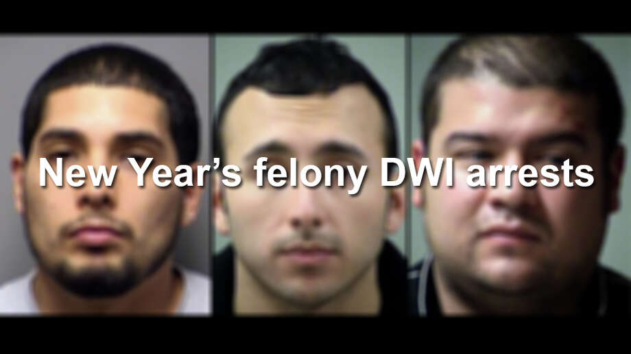 Click through to see the felony DWI arrests from 2015 New Year's celebrations. Photo: Courtesy Bexar County Sheriff's Office