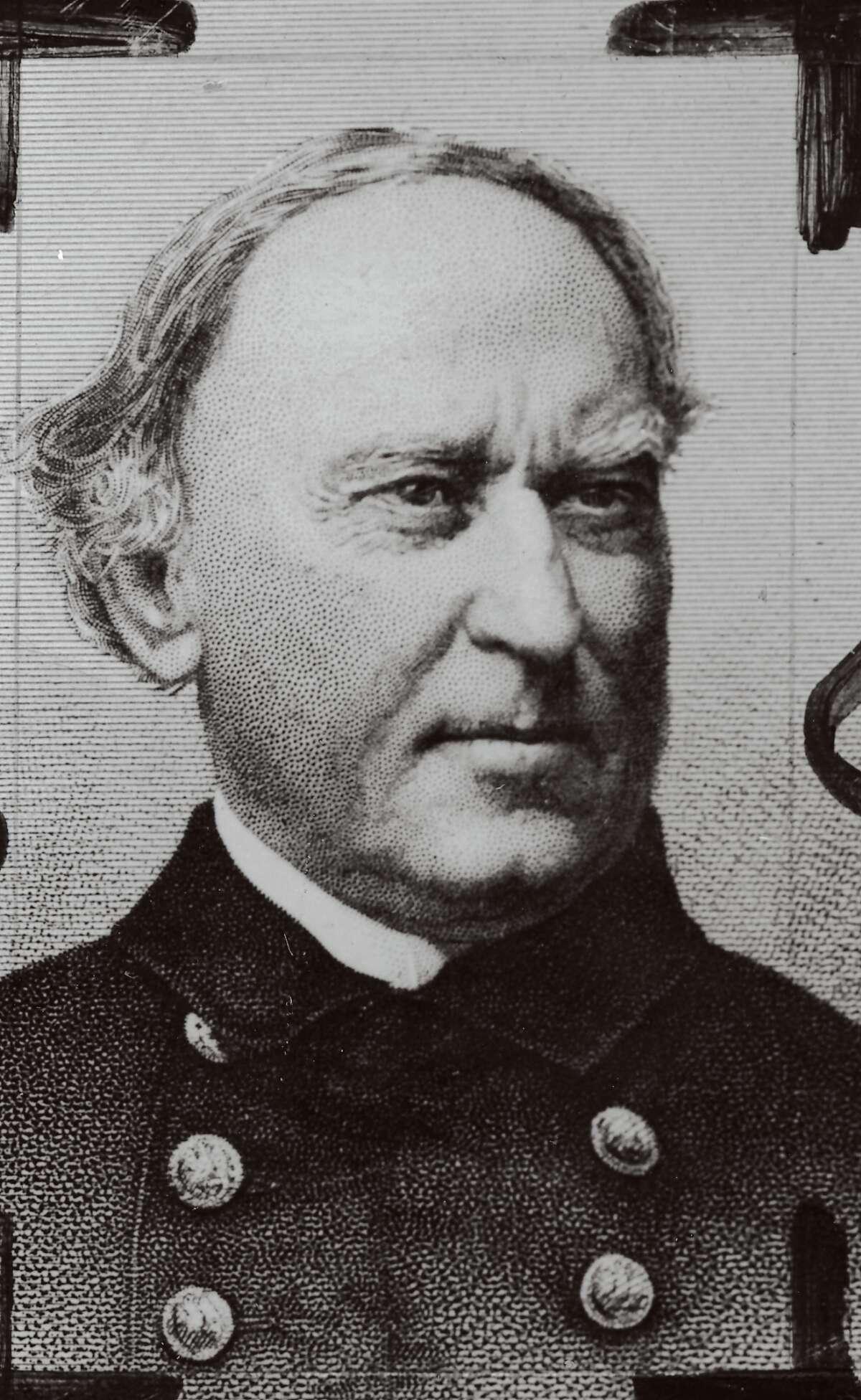 Capt. David G. Farragut established the Mare Island Naval Yard.