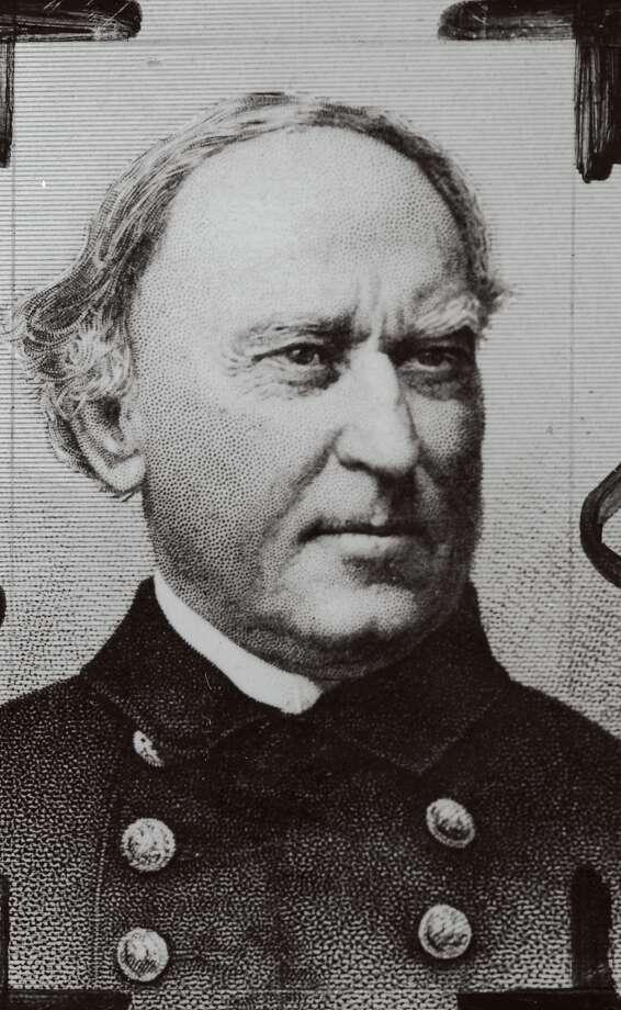 Capt. David G. Farragut established the Mare Island Naval Yard. / ONLINE_YES