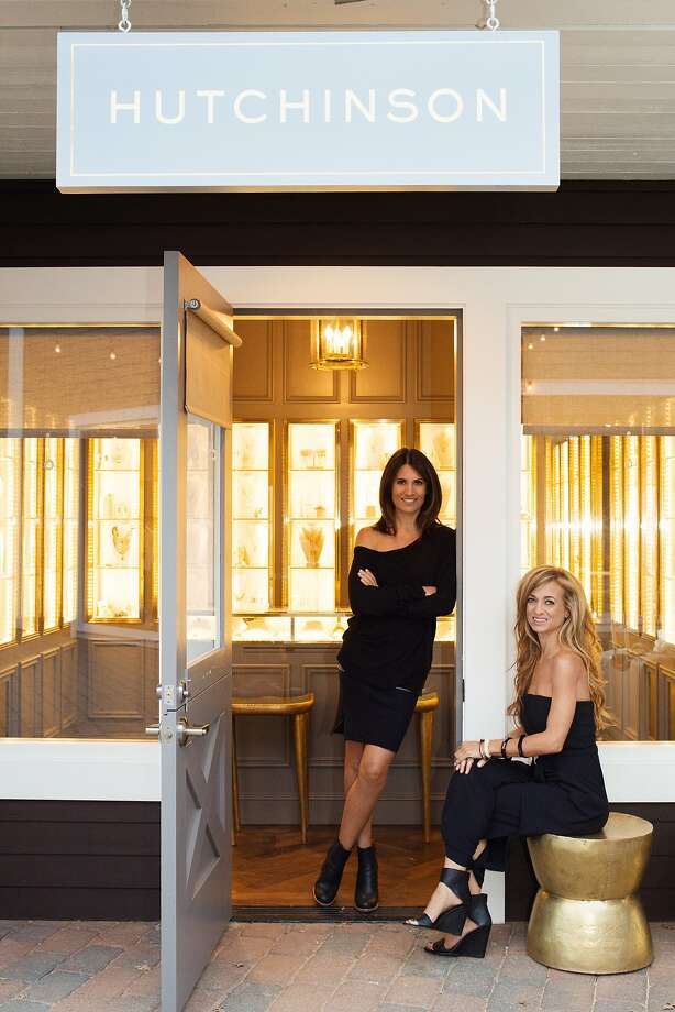 Hutchinson owners Kary Chendo and Miranda Abrams at the Larkspur store. Photo: Pat Ramos