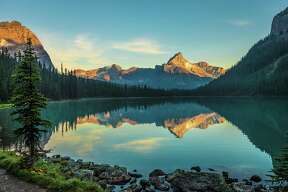 Chronicle reader Francis Oravetz of West University submitted this vacation photo taken at Lake O'Hara in British Columbia, Canada.