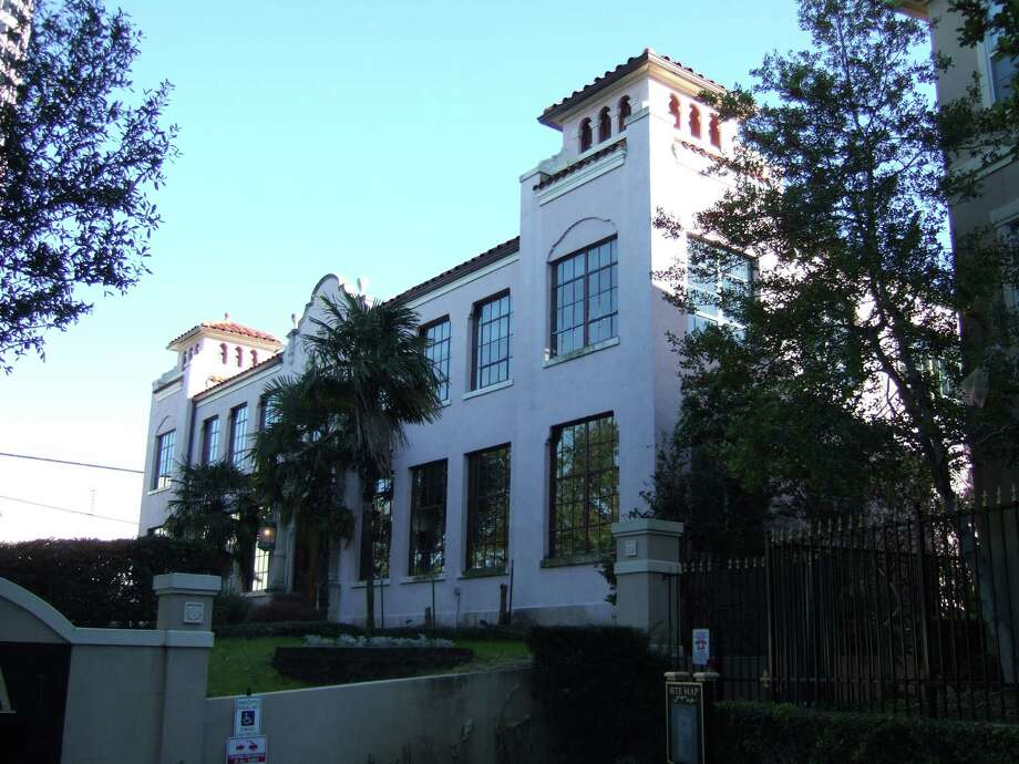CAPTION: Houston City Council designated the Spanish Mediterranean-style structure at 3201 Allen Parkway a protected landmark. CREDIT: City of Houston Planning & Development Department / Handout Email