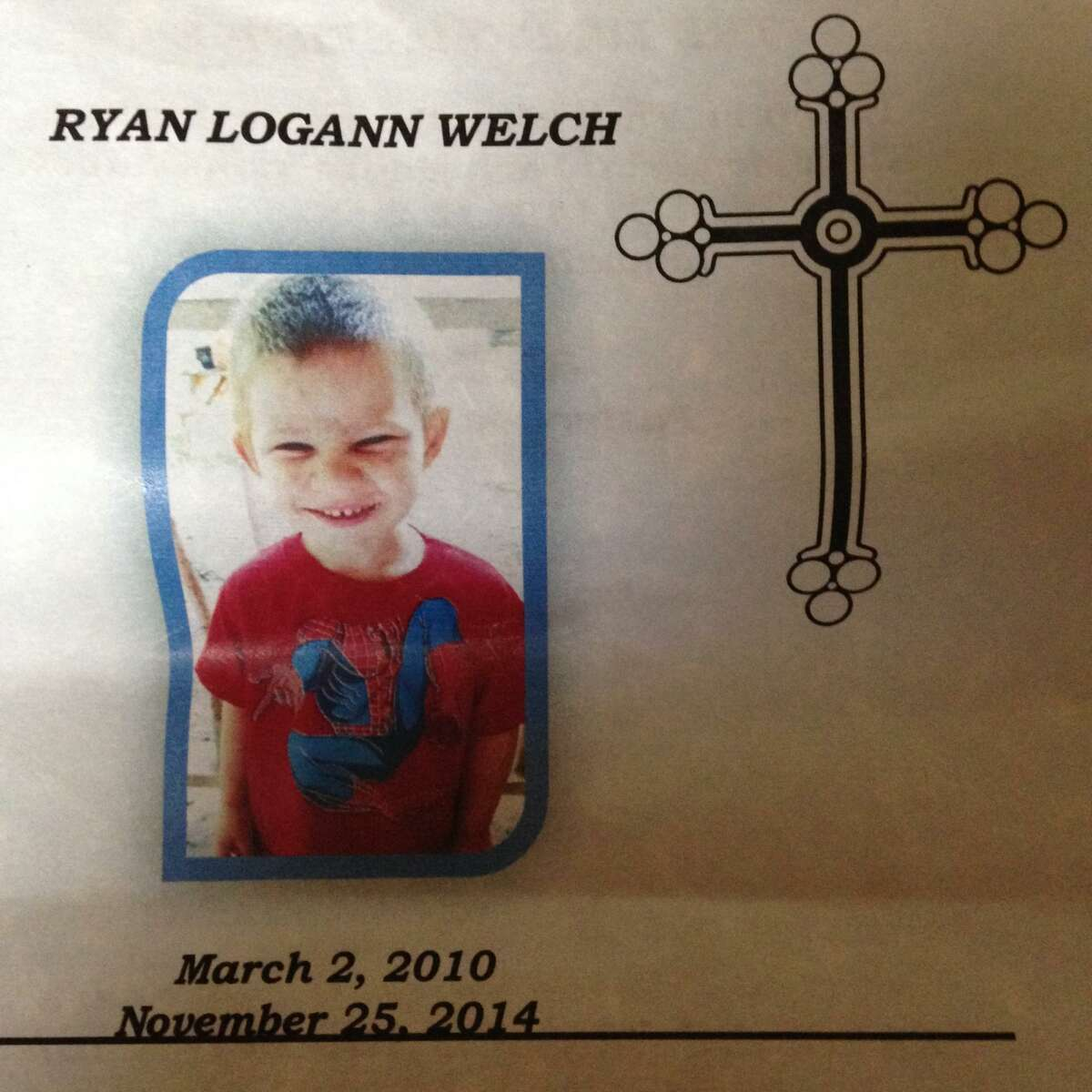 Ryan Welch, 4, was killed at his home by a gun in his parents' master bathroom closet. The family had a history with CPS.