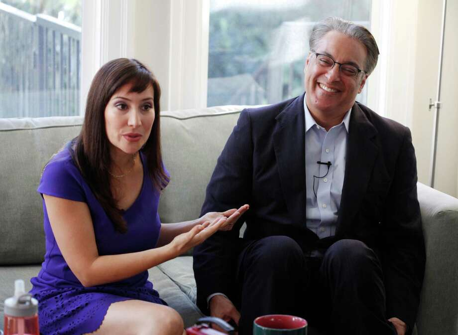 San Francisco County Sheriff Ross Mirkarimi and his wife Eliana Lopez sit for an interview with The Chronicle at their home on December 31, 2014 in San Francisco, Calif. Photo: Pete Kiehart / The Chronicle / ONLINE_YES