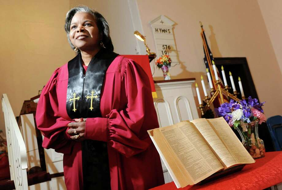 Rev. Debra T. Poole is the pastor of Blessing Cornerstone Ministries on Wednesday, Dec. 31, 2014, in Watervliet, N.Y. (Cindy Schultz / Times Union) Photo: Cindy Schultz / 00030038A