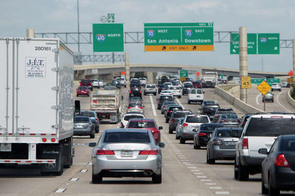 Loop 610 between Interstate 10 and U.S. 59 west of downtown Houston is the most congested segment of highway in the state, according to TxDOT.