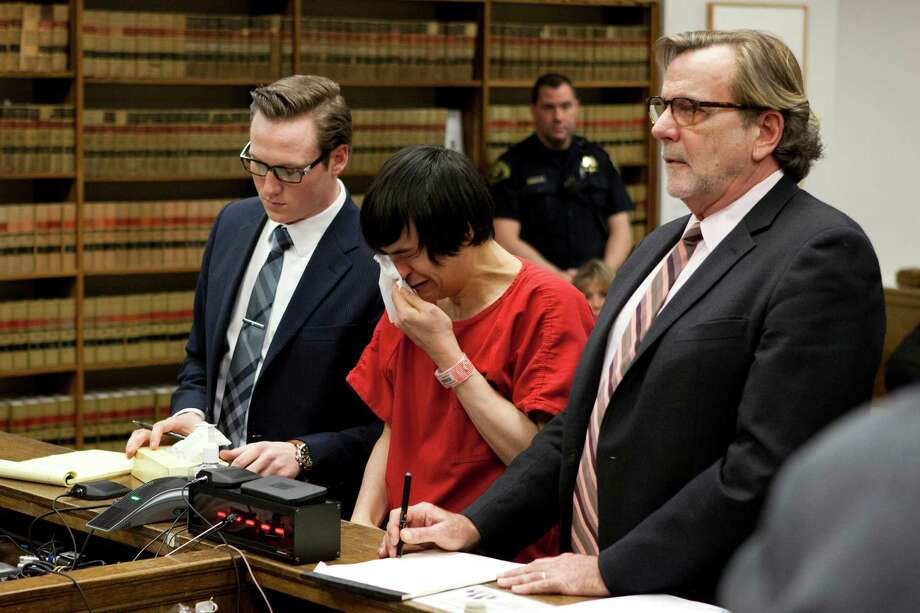 Thomasdinh Bowman, center, was found guilty of first-degree murder with a firearm enhancement and sentenced to 29 years in prison Friday after the slaying of Yancy Noll in Seattle's Roosevelt neighborhood in August 2012. Photo: ANNA ERICKSON, SEATTLEPI.COM / SEATTLEPI.COM