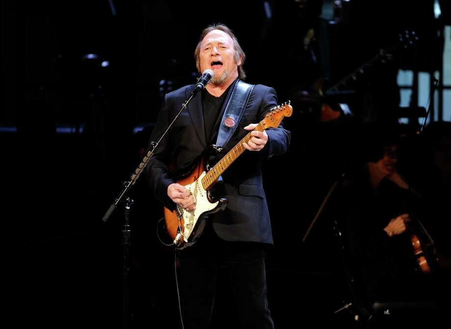 Musician Stephen Stills performs at the 25th Anniversary Rainforest Fund benefit concert at Carnegie Hall on Thursday, April 17, 2014 in New York. (Photo by Evan Agostini/Invision/AP) ORG XMIT: NYEA113 Photo: Evan Agostini / Invision