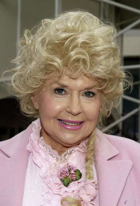 """FILE  JANUARY 02:  Actress Donna Douglas, known for her role as Elly May Clampett in the TV series """"The Beverly Hillbillies,"""" died January 1, 2015 at her home in Louisiana.  She was 81. HOLLYWOOD - FEBRUARY 13:  Actress Donna Douglas attends the ceremony honoring legendary banjo player Earl Scruggs with a star on the Hollywood Walk of Fame on February 13, 2003 in Hollywood, California. (Photo by Vince Bucci/Getty Images) Photo: Vince Bucci, Stringer / 2003 Getty Images"""