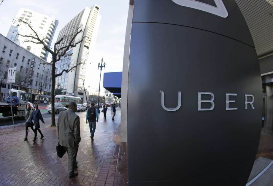 Uber is facing a difficult task in persuading U.S. District Judge Edward Chen to block a lawsuit seeking to reimburse 160,000 California drivers for mileage and tips from proceeding as a class action. Photo: Eric Risberg, Associated Press