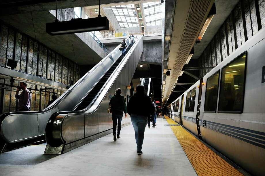 Access to public transportation, such as San Francisco's extensive network, plays a role in millennials' attitudes toward cars. Photo: Michael Short, Special To The Chronicle / ONLINE_YES