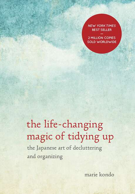 """Marie Kondo's """"The Life-Changing Magic of Tidying Up"""" (224 pages, Ten Speed Press), which came out in October, now has 160,000 copies in print. Photo: Ten Speed Press"""