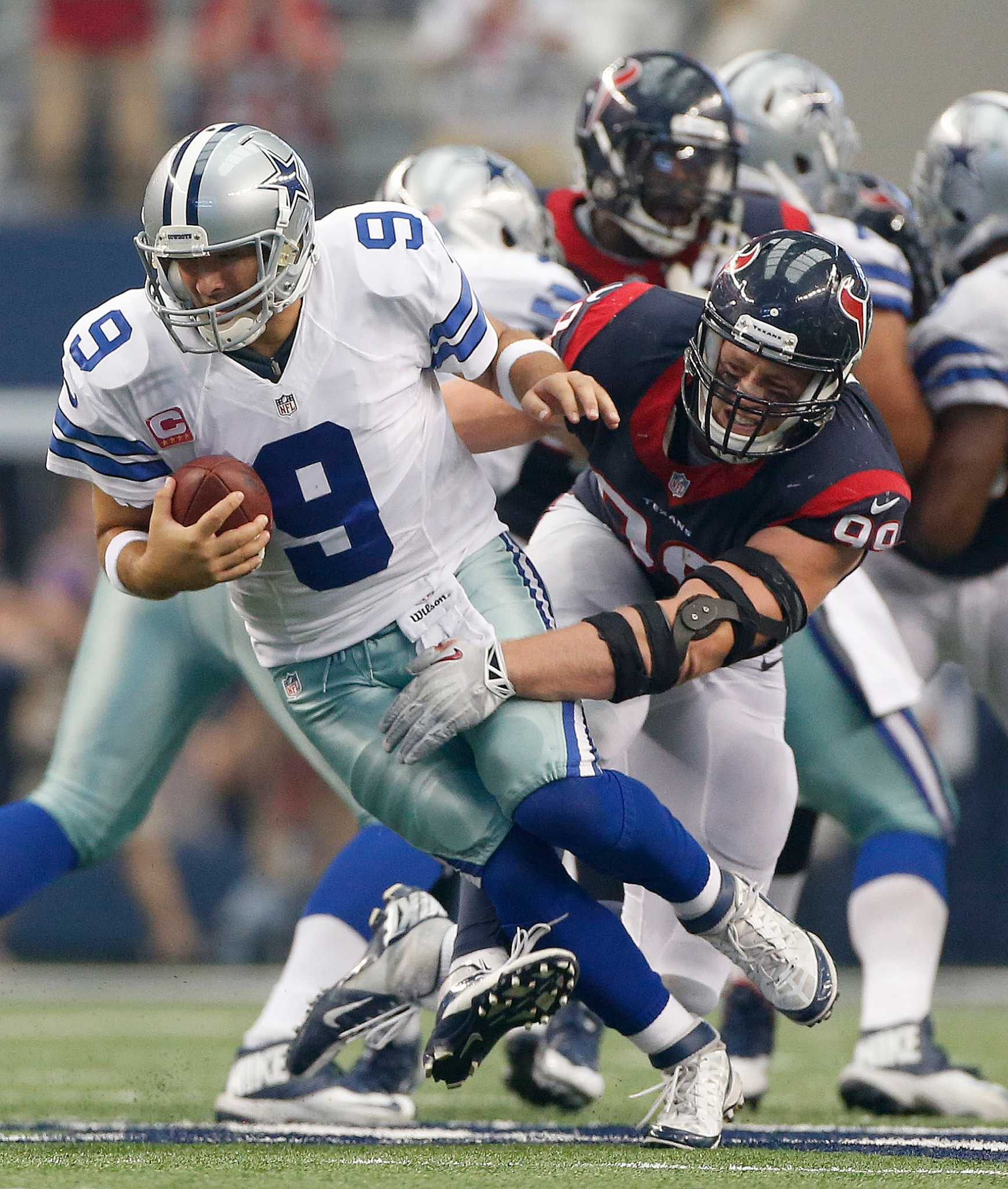 Thank Resurgent Cowboys For Feeling Blue Houstonchroniclecom