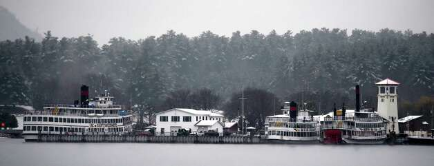 Lake George's steamboat company is idle Monday morning, Nov. 17, 2014, in Lake George, N.Y.  (Skip Dickstein/Times Union) Photo: SKIP DICKSTEIN / 00029496A