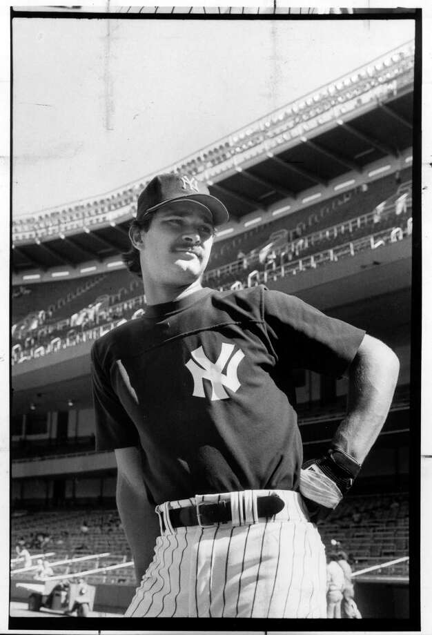 """FILE a€"""" Don Mattingly in 1986, a season in which he finished second in MVP voting, at Yankee Stadium in New York. Mattingly is thought unlikely to make the Hall of Fame in 2015, his final year of eligibility a€"""" for longtime Yankees fans, a melancholy fact somewhat in keeping with the dark mood that hung over the club in the years he was at his peak. (Larry C. Morris/The New York Times) ORG XMIT: XNYT39 Photo: LARRY C. MORRIS / NYTNS"""