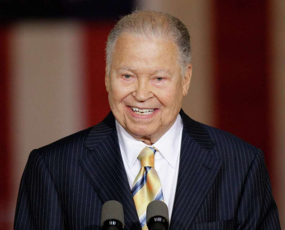 File-This Oct. 28, 2009, file photo shows former Massachusetts Sen. Edward William Brooke speaking in the Rotunda on Capitol Hill in Washington,  during a ceremony where he received the Congressional Gold Medal. Brooke, the first black to win popular election to the Senate, has died. He was 95. Ralph Neas, a former aide, said Brooke died Saturday, Jan. 3, 2015, of natural causes at his Coral Gables, Fla, home. (AP Photo/Alex Brandon, File) Photo: Alex Brandon, STF / AP