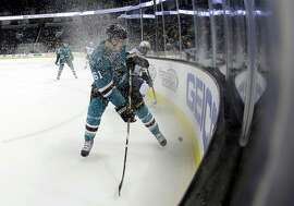 Fans are used to seeing the Sharks' Justin Braun play at the SAP Center, but soon the team's top minor-league affiliate will play there too. The Worcester, Mass., franchise in the American Hockey League is moving California along with several other franchises, and they will soon play in San Jose's SAP Center, at least initially.