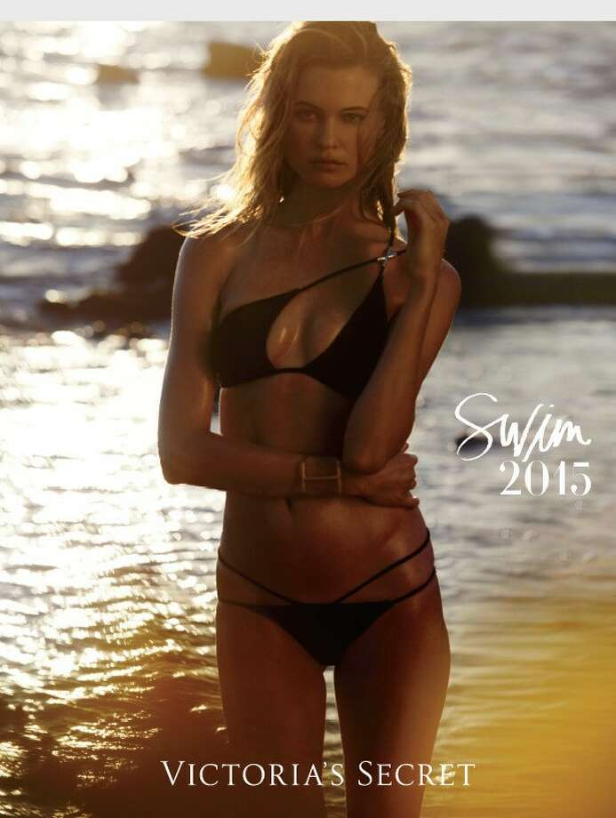 Victoria's Secret Releases the Swim 2015 Catalogue With Supermodel Behati Prinsloo Featured on Cover Photo: AP / Victoria's Secret