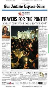 April 2, 2005 Photo: Express-News File Photo