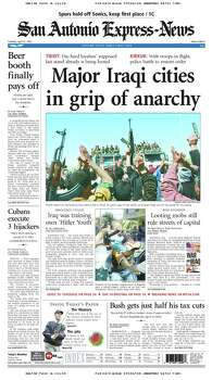 April 12, 2003 Photo: Express-News File Photo