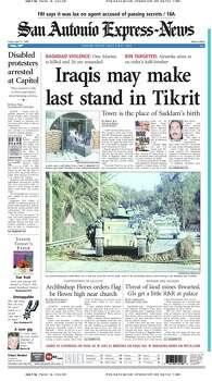 April 11, 2003 Photo: Express-News File Photo