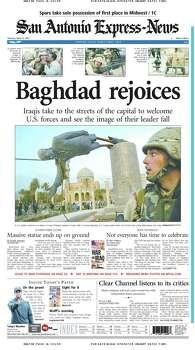 April 10, 2003 Photo: Express-News File Photo