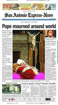 April 4, 2005 Photo: Express-News File Photo