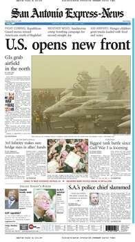 March 27, 2003 Photo: Express-News File Photo