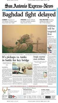 March 26, 2003 Photo: Express-News File Photo