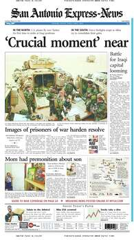 March 25, 2003 Photo: Express-News File Photo