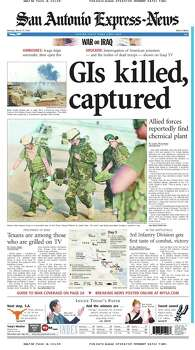 March 24, 2003 Photo: Express-News File Photo