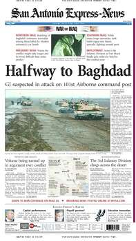 March 23, 2003 Photo: Express-News File Photo