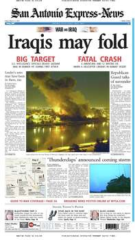 March 21, 2003 Photo: Express-News File Photo