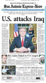 March 20, 2003 Photo: Express-News File Photo