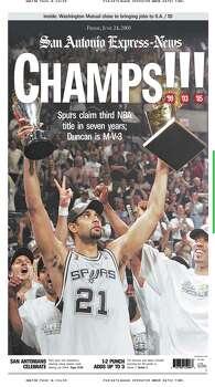 June 24, 2005 Photo: Express-News File Photo