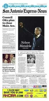 Dec. 6, 2013 Photo: Express-News File Photo
