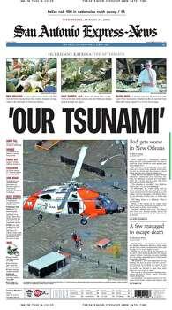 Aug. 31, 2005 Photo: Express-News File Photo