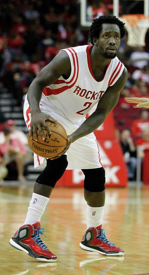 Houston Rockets guard Patrick Beverley (2) looks for a shot during the first half of an NBA basketball game at the Toyota Center, Friday, Oct. 24, 2014, in Houston.  ( Karen Warren / Houston Chronicle  ) Photo: Karen Warren, Staff / © 2014 Houston Chronicle
