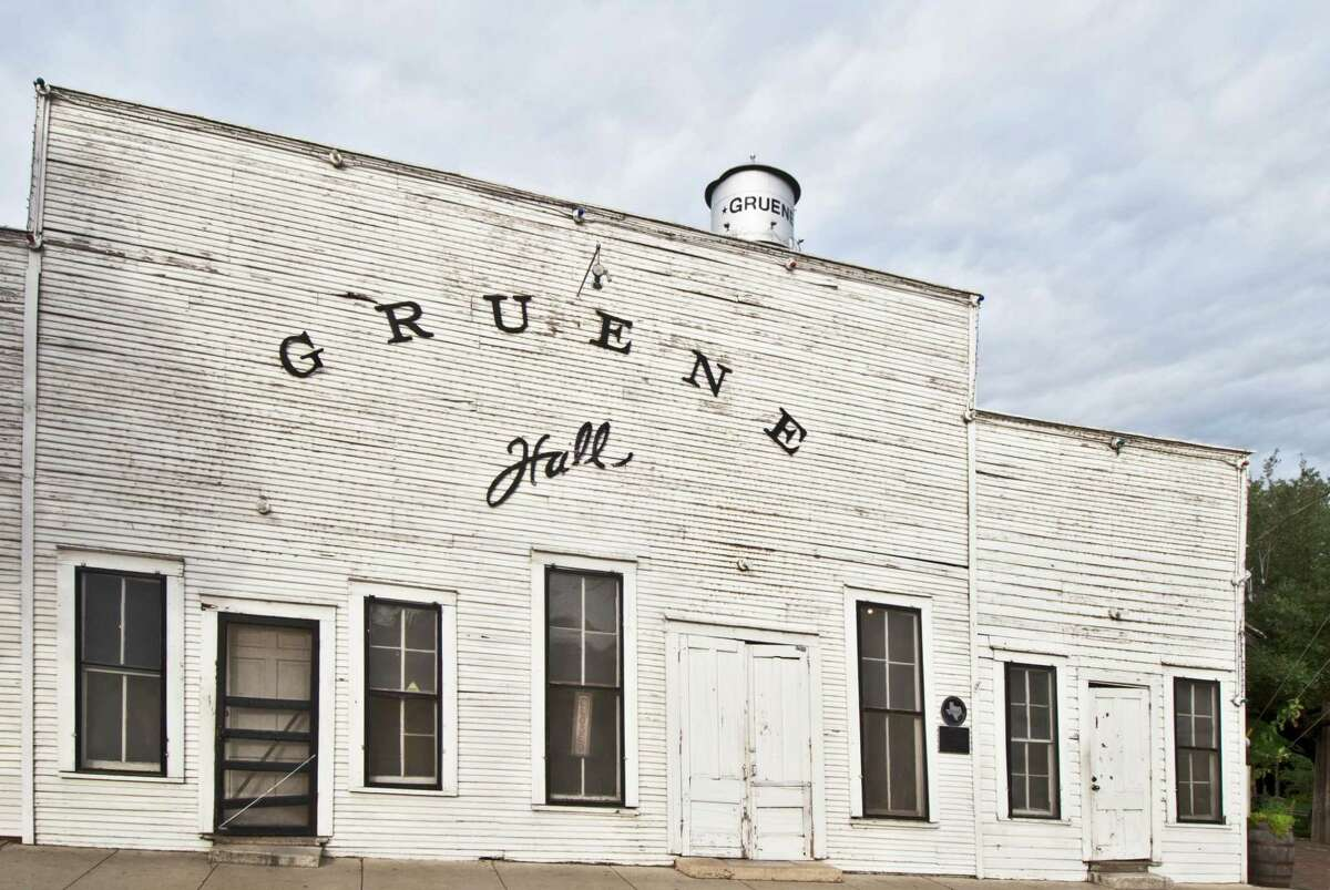 Gruene Hall Gruene, Texas Texas' oldest dance hall has been bumpin' since 1878. If the history doesn't draw you in, the bands will.