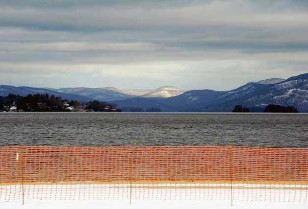 View of Lake George from the Million Dollar Beach on Thursday Dec. 18, 2014 in Lake George ,N.Y.  (Michael P. Farrell/Times Union) Photo: Michael P. Farrell / 00029923A