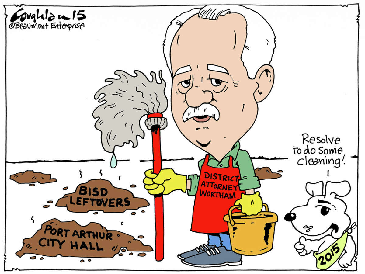 Andy Coughlan's cartoon for Sunday, January 4, 2015.