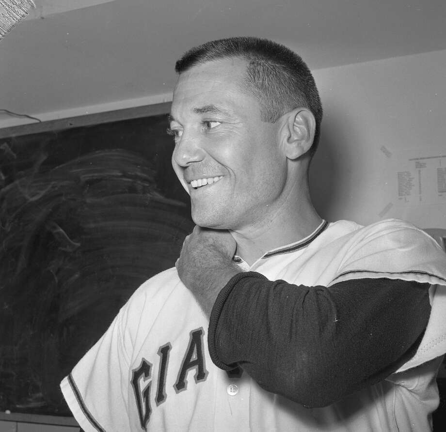 San Francisco Giants reliever Stu Miller after the 1961 All-Star Game held at Candlestick Park. Photo: Barney Peterson / The Chronicle / ONLINE_YES