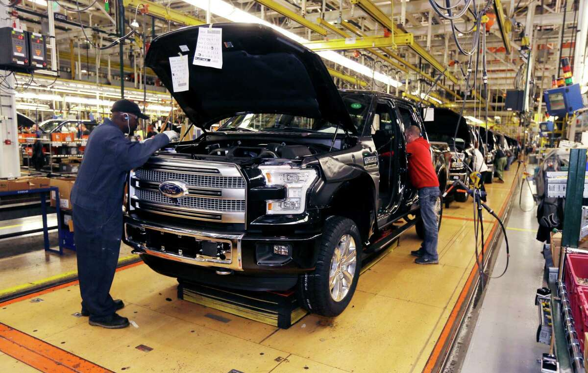 Dealers in Ford's Houston region, which includes San Antonio and all Texas cities south of Georgetown, sold 4,224 F-Series pickups - the most of any region in the nation.