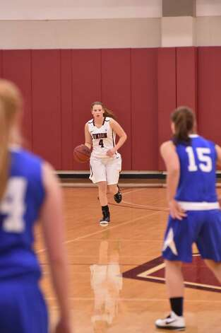 Shaker High graduate Jenni Barra of the Union College women's basketball team. (Trent Hermann / Carlyn Studios)