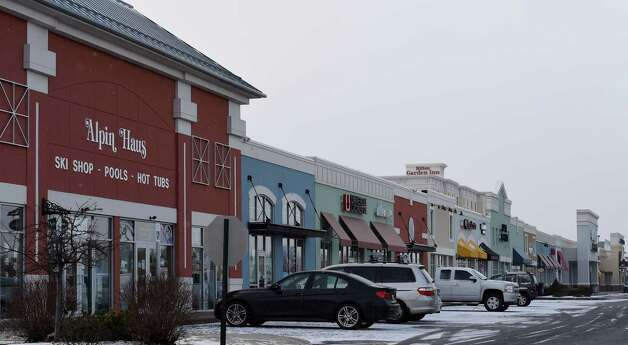 Exterior view of the Clifton Park Center Mall Monday afternoon, Jan. 5, 2015, in Clifton Park, N.Y.    (Skip Dickstein/Times Union) Photo: SKIP DICKSTEIN / 00030076A