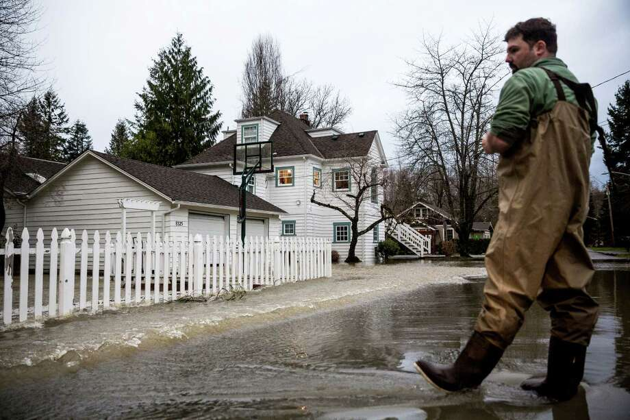 Some Washington communities will see chronic flooding by 2045. Check out what the Union of Concerned Scientists has to say about where we should watch out. Photo: JORDAN STEAD, SEATTLEPI.COM / SEATTLEPI.COM
