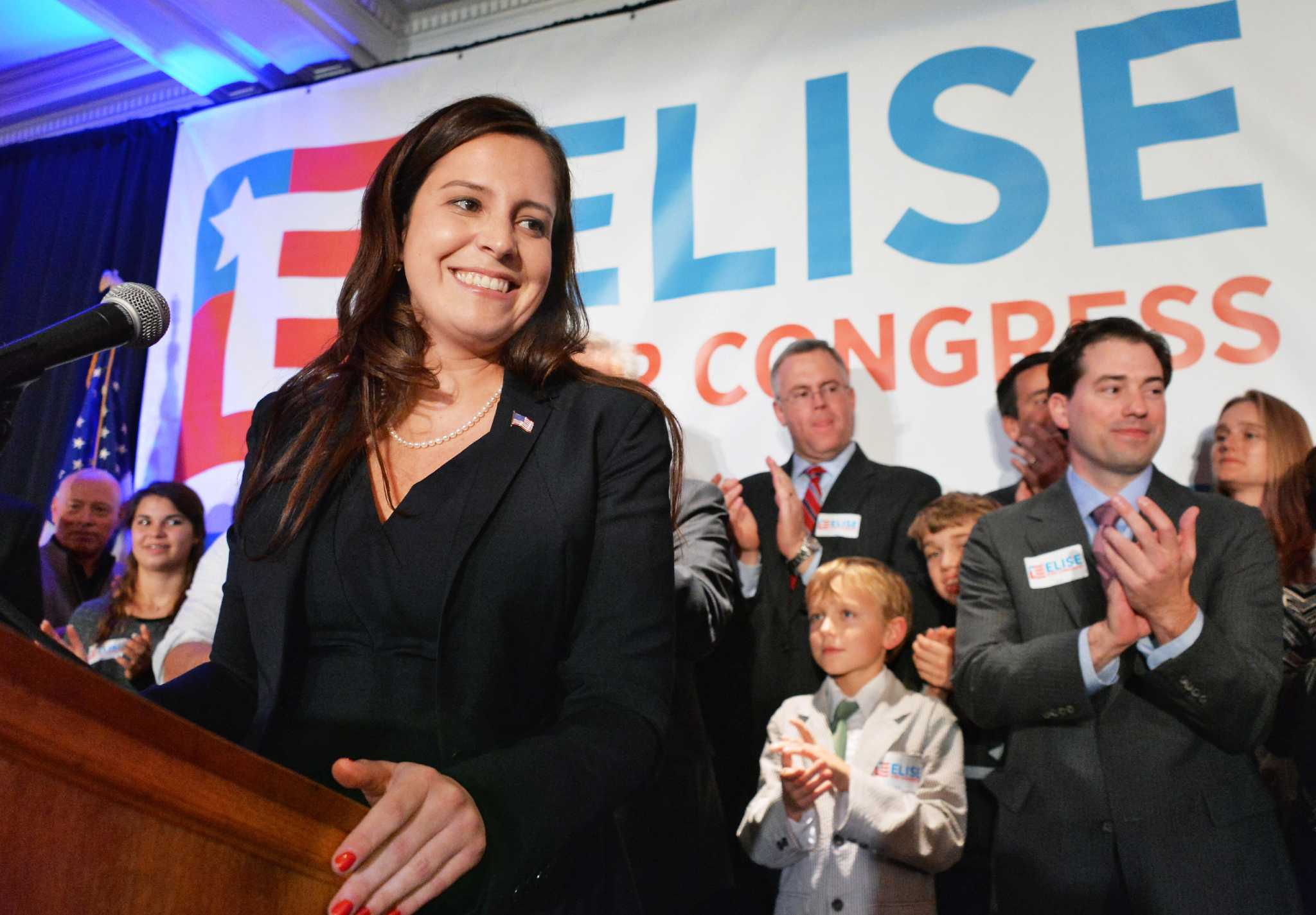 Stefanik on historic rise