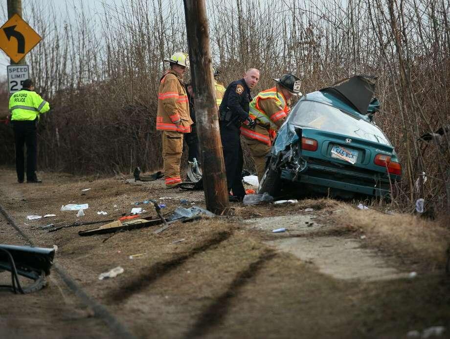 Teenage brother and sister die in Sunday car crash in Milford
